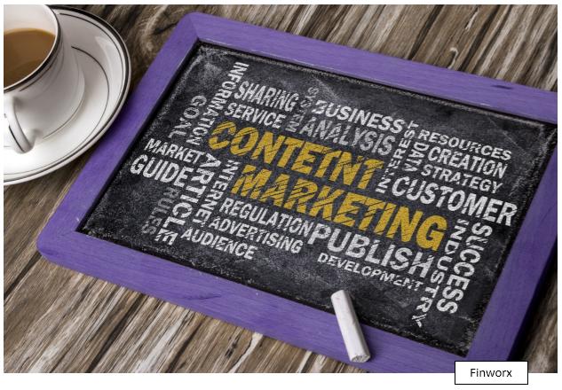 content marketing for financial advisors financier seo