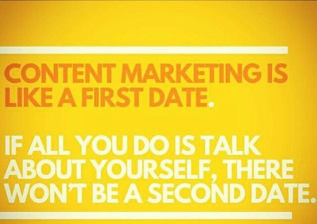 social media content marketing financial advisors
